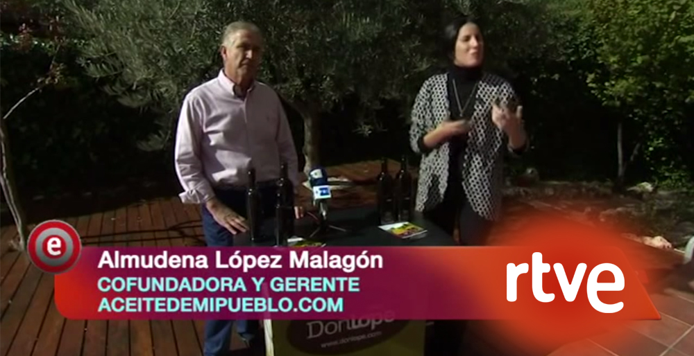La pasión por el aceite de oliva, el protagonista de Aceitedemipueblo.com por Begoña Ortega
