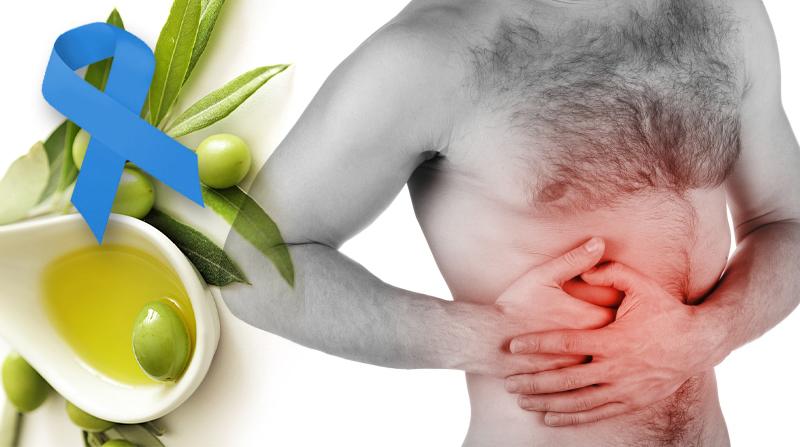 El ácido oleico previene el cáncer de colon