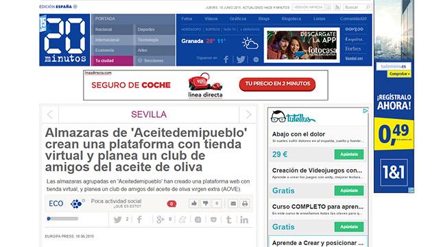 La nueva plataforma de Aceitedemipueblo, paso previo al Club de Amigos del Aceite