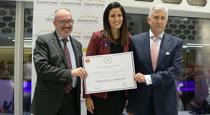 Grupo DonLope, Medalla Europea al Mérito en el Trabajo