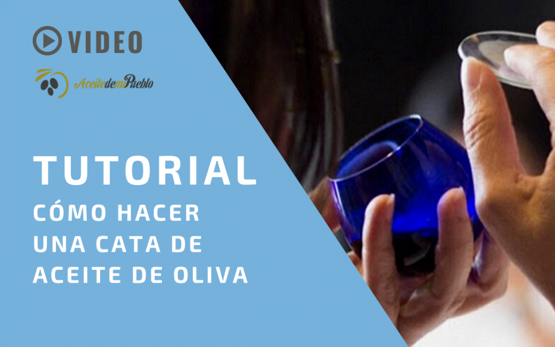 Tutorial de Cata de Aceite de Oliva